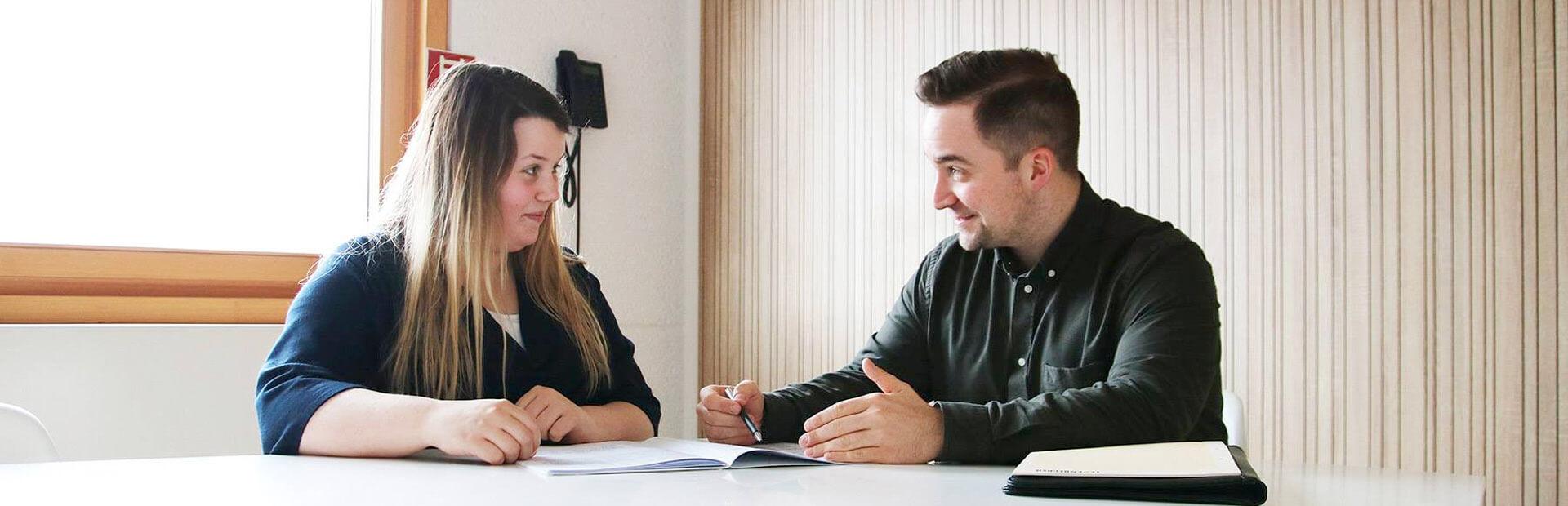 Ausbilder im Gespräch - Ausbildung bei Leyendecker