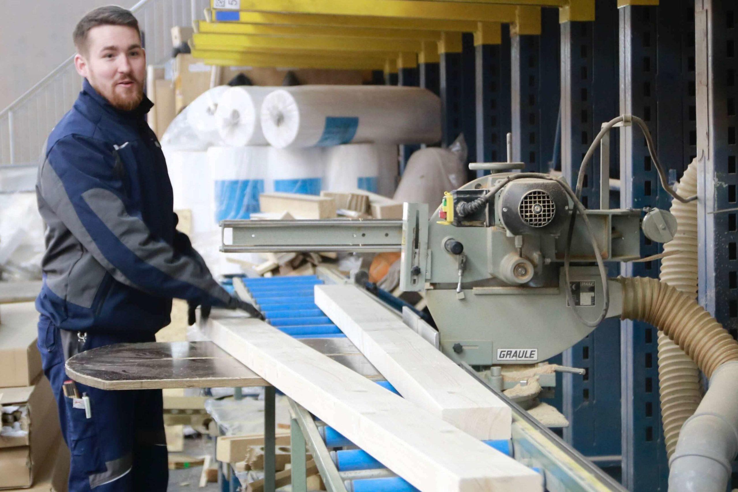 Ausbildung zum Holzmechaniker in Trier