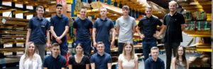 Bild von allen aktuellen Auszubildende bei HolzLand Leyendecker in Trier