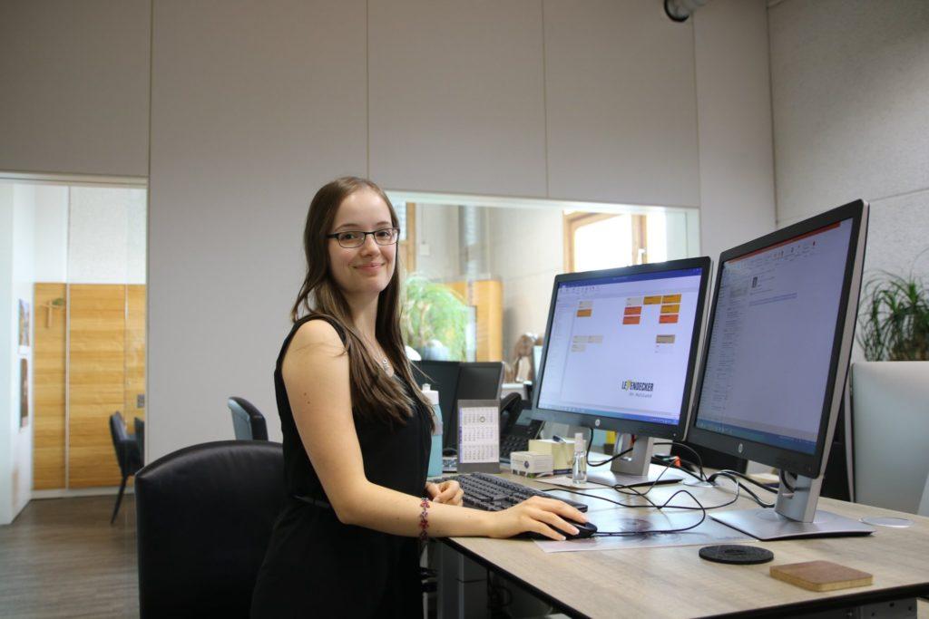 Bild von Viktoria Welsch - Auszubildende bei Leyendecker HolzLand in Trier