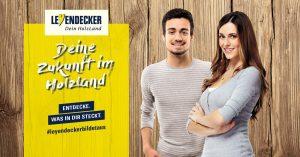 Kampagnenbild zur Ausbildung bei Leyendecker in Trier